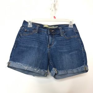 Old Navy The Sweetheart Cut Off Cuffed Shorts 0